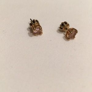 Juicy Couture pink studs